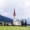 Classic Tirol view, Austria, natural landscape, summer