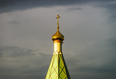 Orthodox russian church in Strasbourg, France