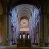 Cathedral interior in Saint-Malo, Bretagne, France