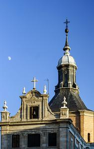 Medieval church in Madrid Spain