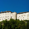 Fortress Hohensalzburg, beautiful medieval castle in Salzburg