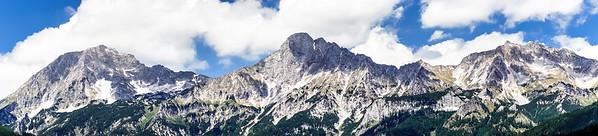 Mountains of  Shtiria, Austria, at summer