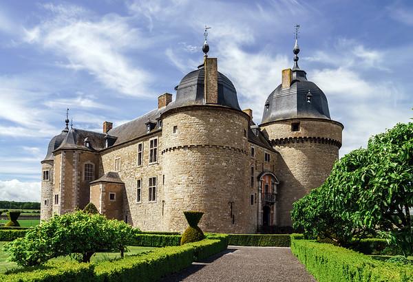 Renovated medieval castle