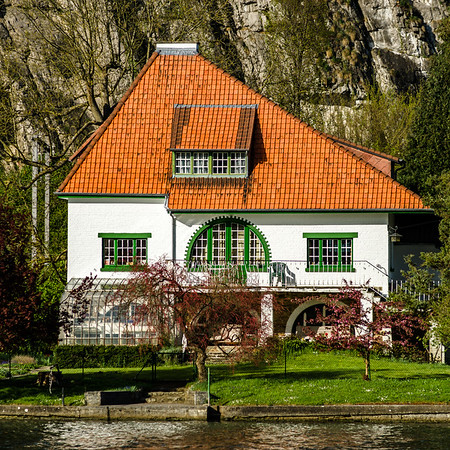 Beautiful old house with garden in Belgium