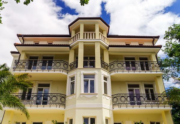 Old renovated villa on Adriatic sea resort