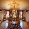 Beautiful rich classic interior of XIX century