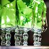 Wineglasses and napkins