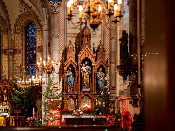 St.Gallen church interior, Breitenbach, Alsace