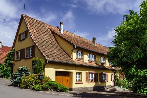 Renovated village house