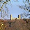 Old medieval castle Andlau in France