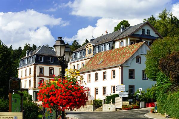 Classic hotel on ski resort in France