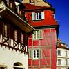 Selestat old city street view, Alsace, France