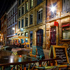 Editorial: 19th November 2016: Strasbourg, France. Night street view