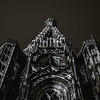 Tower of Strasbourg Cathedral isolated