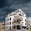 New modern apartment building in Strasbourg, France