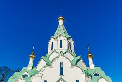 New russian orthodox church in Strasbourg, France