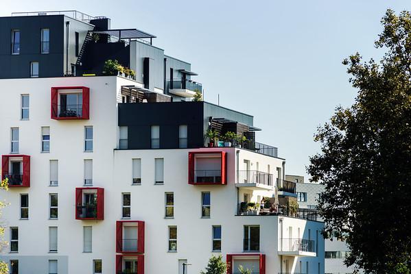 New modern apartment with balcony, Strasbourg
