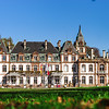 Beautiful old manor near Strasbourg, public building and park, Chateau de Pourtales