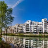New modern apartment house on the lake in Strasbourg