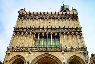 Paroisse Notre Dame of Dijon exterior view, France