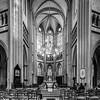 Cathedral of Saint Benignus of Dijon majestic interior view, France