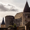 The stunning medieval castle of Chateauneuf, perfectly preserved from ancient times