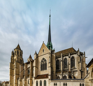 Saint-Benigne Cathedral in Dijon, Burgundy, France