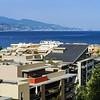 Touristic apartments in Menton, Cote d Azur, sunny resort
