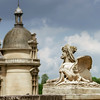 Chantilly castle view, Il-de-France, Paris region
