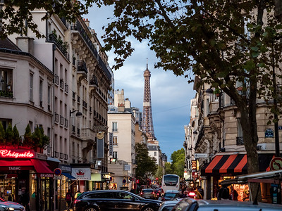 Editorial: 24th October 2019: Paris, France. The streets of Paris