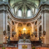 Saint Paul church majestic interior, Paris