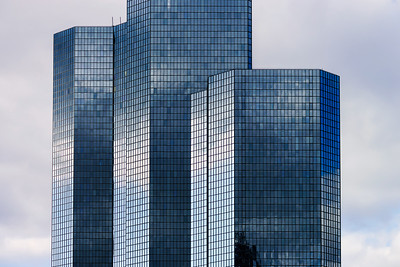 La Defense europe business center in Paris, France.