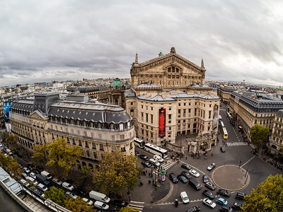 Editorial: 25th October 2019: Paris, France. The streets of Paris