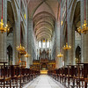 Majestic Auch cathedral pipe organ perspective view