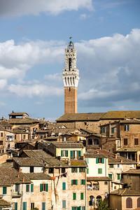 Siena bell tower