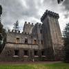 Classical castle Brolio in Italy