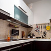 Modern comfortable kitchen, equipped with everything you need. Nice place to cook.