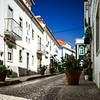 Old resort city in Portugal