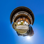 Funny little planet natural view produced in Switzerland