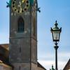Architectural details, old center of Zurich