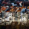 Classic city architecture of Switzerland street view