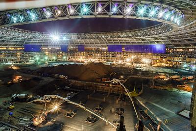 Great sport stadium construction