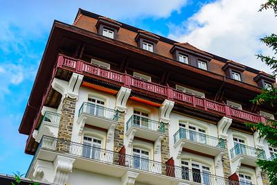 Hotel in swiss alps