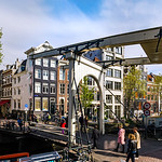 Editorial: 7th May 2017: Amsterdam, Holland: Spring sunny day in the city