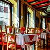 Village restaurant interior