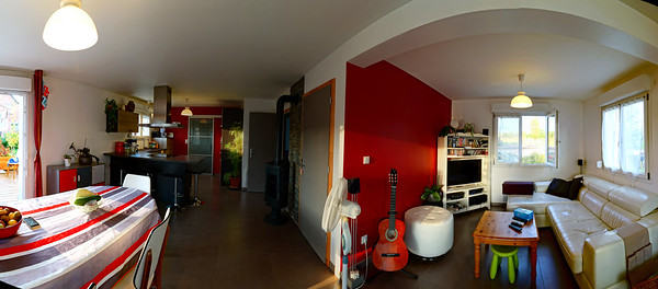Typical suburban studio in a little house