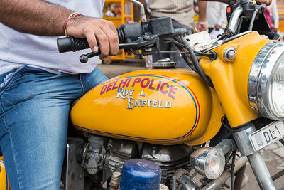 Delhi Police Bike