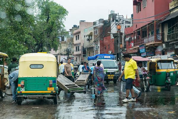 On the Road in Delhi