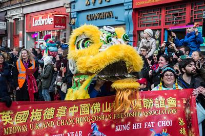 London & Chinese New Year 2014