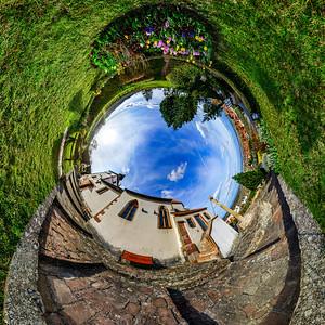Chapelle Sainte Sebastien little planet
